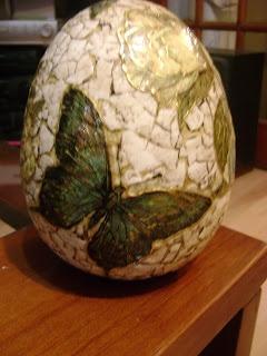 El taller de Lucy: Huevo craquelado con cascara de huevo