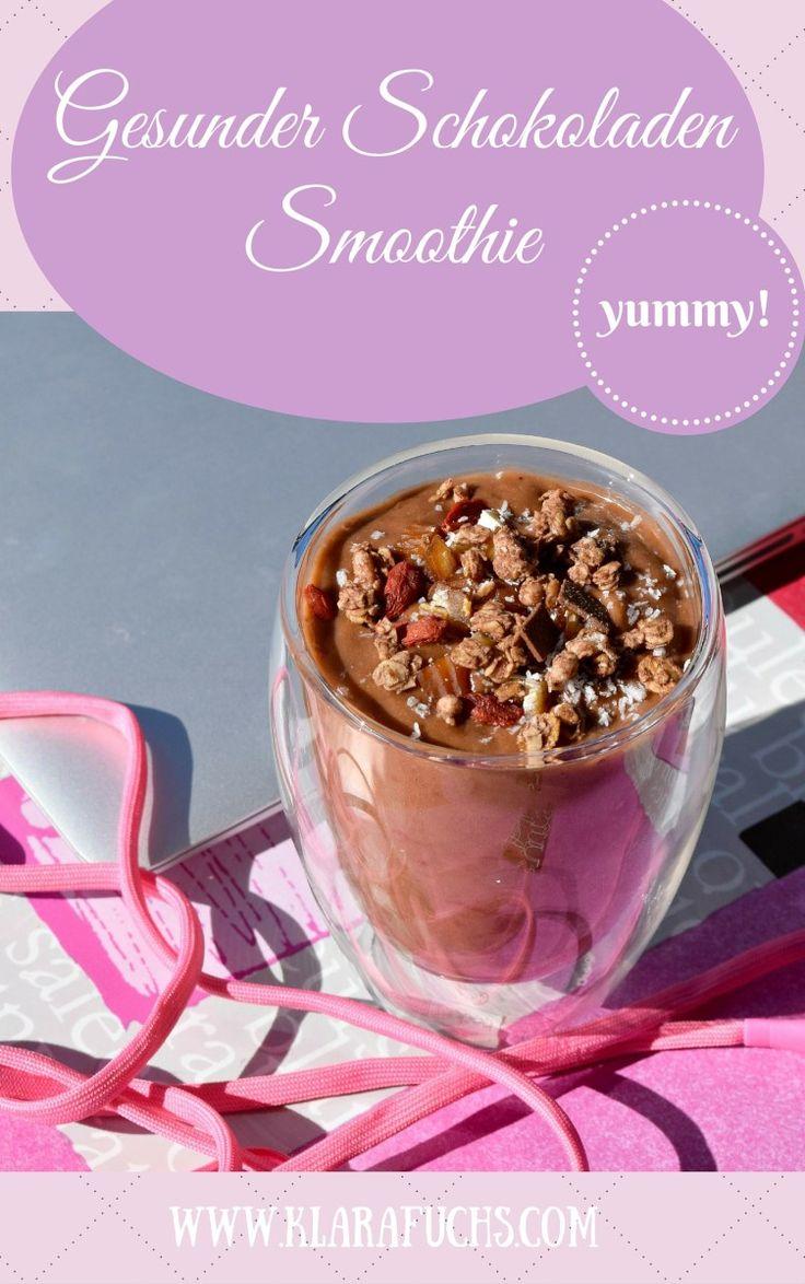 Gesunder Schokoladen Smoothie
