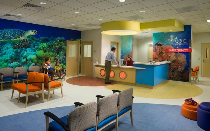 Interior Design Environmental Graphics Pediatric