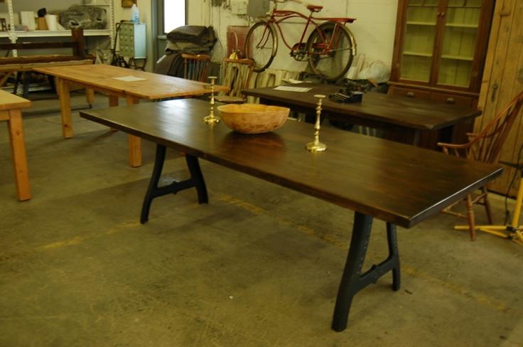 Antique Iron Kitchen Table