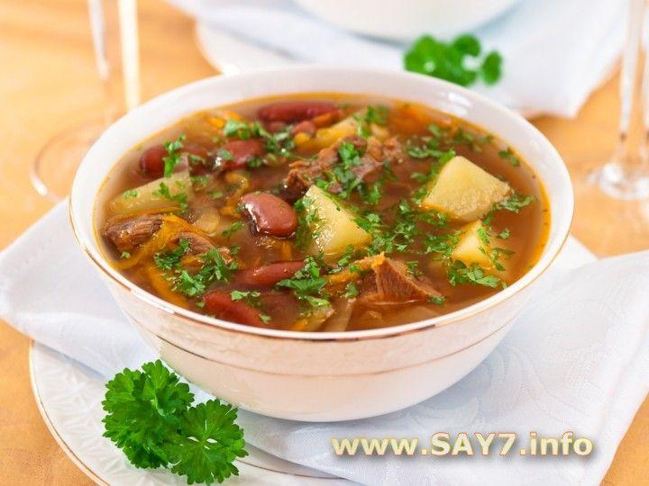 Суп с фасолью(loved)