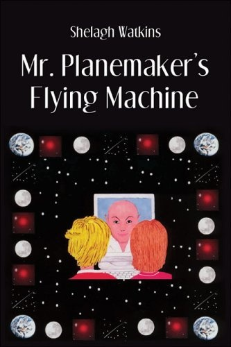 Mr. Planemaker's Flying Machine by Shelagh Watkins, find on Amazon: http://www.amazon.co.uk/dp/141377136X/