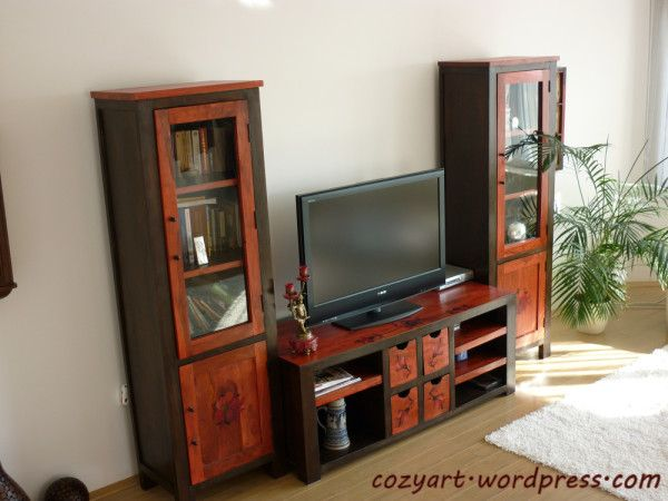 TV Wooden Furniture from Amazing Living Room Ideas to Make Houses Become Elegant and Modern 600x450 Amazing Living Room Ideas to Make Houses Become Elegant and Modern