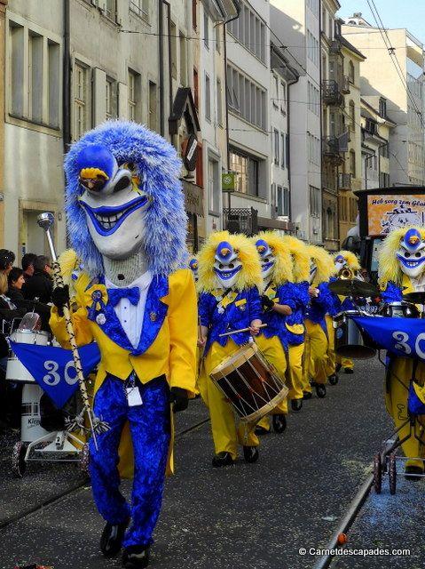 Carnaval de Bâle en Suisse