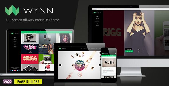 Wynn – Full screen Ajax Portfolio Theme, is a responsive, full screen, all Ajax WordPress portfolio theme that has a stylish look and a slick experience.