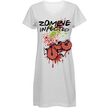 INFECTED Z-VIRUS   When you're bit by a zombie you have contracted the Z-VIRUS this is a cool costume and Sweet dress. NEVER SOLD IN ANY STORES ONLY HERE!!!