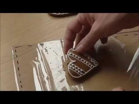 Darčekové balenie medovníkov - YouTube