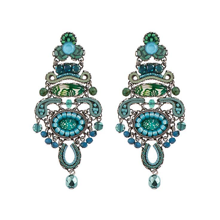 Garden Meditation Rose Earrings Ayala Bar Classic Collection – Summer 2016
