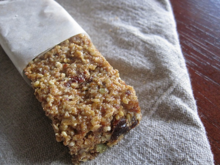 Fruit and Nut Bars with Quinoa and Almond Butter