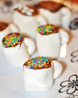 Great Family Fun!: Marshmallow Tea Cups - Cute For a Little Girl's Tea Party