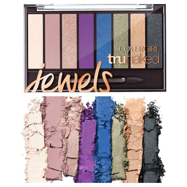 Lk!!! @Covergirl is launching a brand new Trunaked Palette with jewel-toned shades! It's already available on their website and will be in drugstores soon. The colors remind me of the Lorac Pro Metal palette! #covergirl #trunakedjewels #eyeshadowpalette #drugstoremakeup #budgetbeauty #budgetbeautyblog #bbloggers