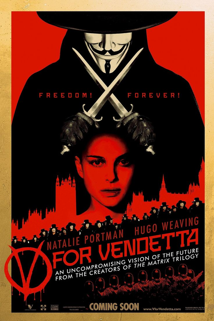 The 20 best British science fiction films – in pictures The film that spawned a trillion Guy Fawkes masks. 2006's film adaptation of Alan Moore and David Lloyd's graphic novel, V for Vendetta, portrayed the popular uprising in London against a fascistic Britain.
