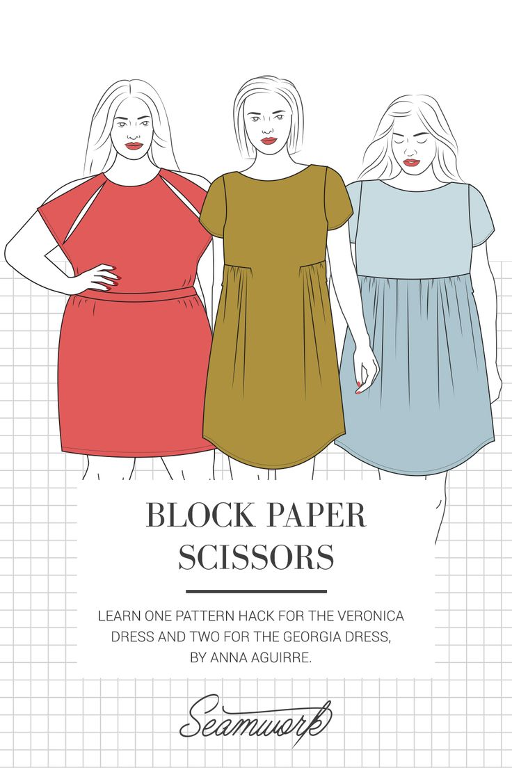 Block Paper Scissors  |  Seamwork Magazine
