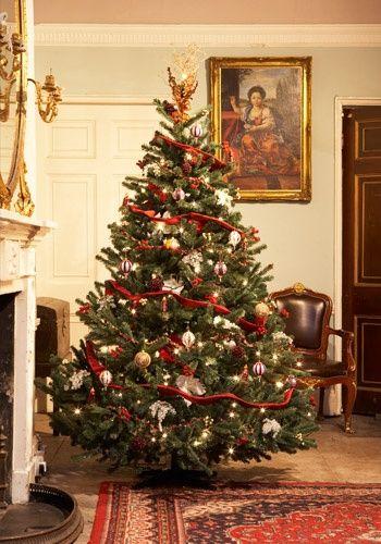 Victorian Christmas Tree | Progressive Dinner Decor | Pinterest