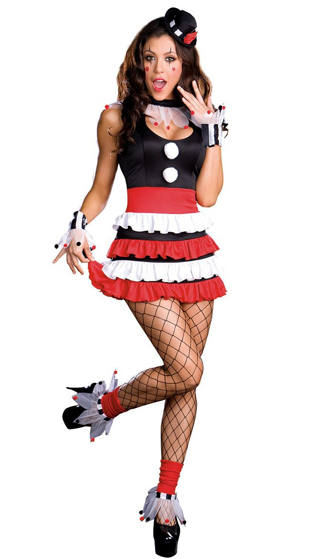 4de24060c8108 CIRCUS WOMEN LADIES FANCY DRESS PARTY CLOWN JOKER ROLE PLAY FOR HALLOWEEN  CARNIVAL CHRISTMAS COSPLAY COSTUMES   Lovely Fancy Costume   Clown  halloween ...