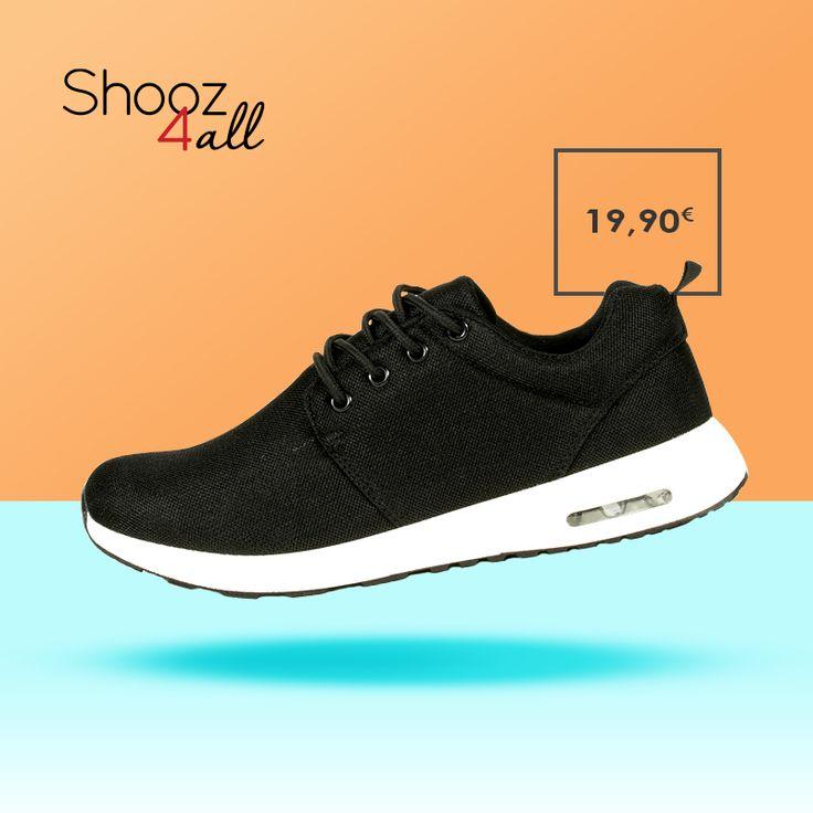 Ελαφριά, άνετα και στυλάτα ανδρικά αθλητικά παπούτσια σε μαύρο χρώμα. Από μαλακό ύφασμα mesh για ευχάριστη αίσθηση, διαθέτουν αερόσολα για απορρόφηση των κραδασμών. http://www.shooz4all.com/el/andrika-papoutsia/athlitika-papoutsia-se-mavro-xroma-gf-38-detail #shooz4all #andrika #athlitika