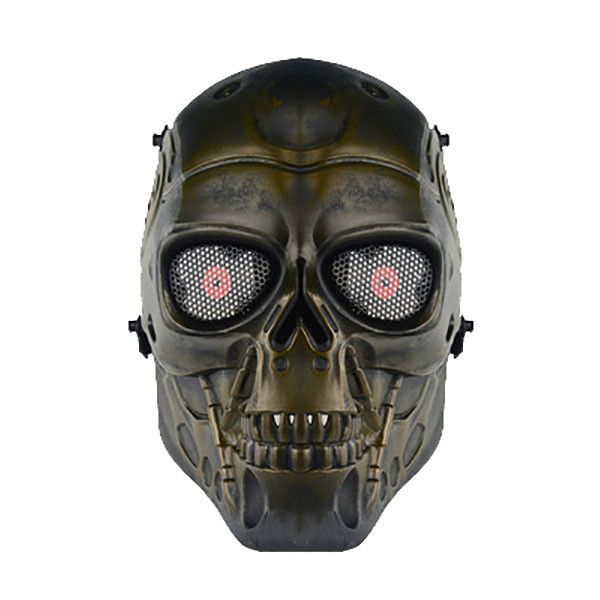 Skull Skeleton Face Mask For Airsoft Game Paintball Tactical Military christmas #Unbranded