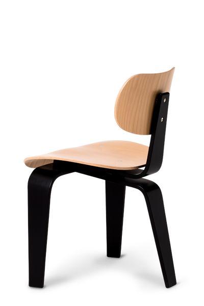 Egon Eiermann 3-Legged Chair - WILDE+SPIETH - Egon Eiermann Chairs, Tables Stools