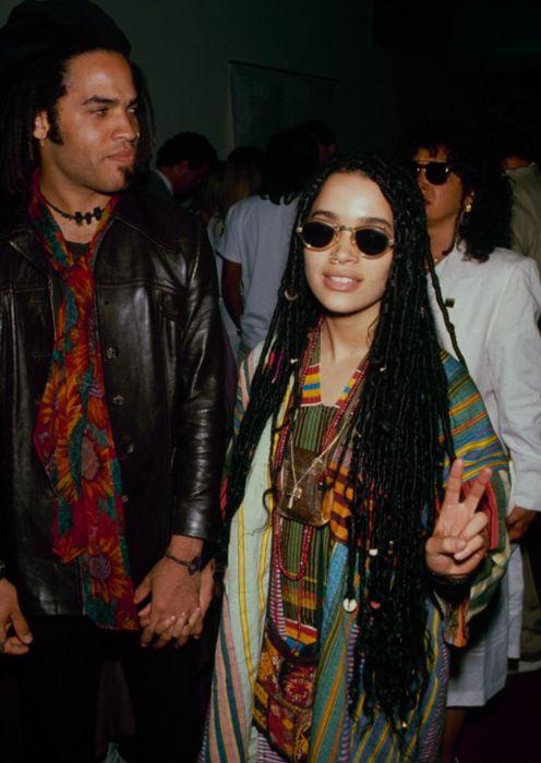 Lisa Bonet & Lenny Kravitz