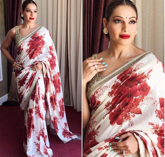 Bipasha Basu In A Beautiful Sari