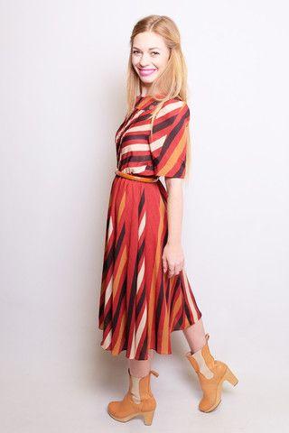 Fireside Vintage Dress