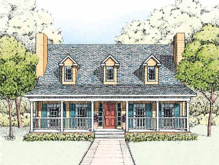 Country house plan with 1719 square feet and 3 bedrooms s for Houseplans com discount code