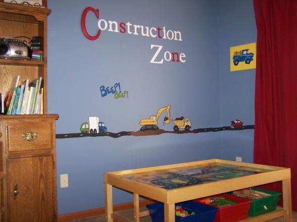 construction bedroom