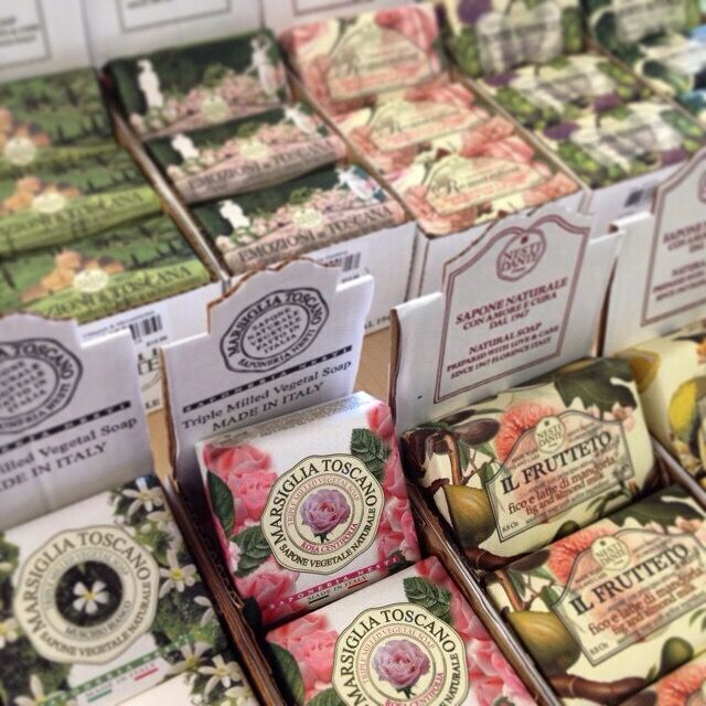 Beautiful Italian Nesti Dante soaps.