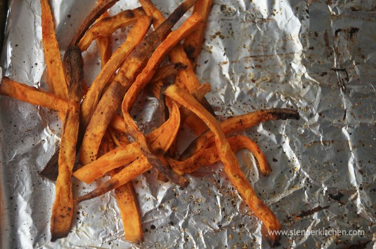 Spicy Sweet Potato Fries | Slender Kitchen - 3 Points + (98 cal) 1/4 ...