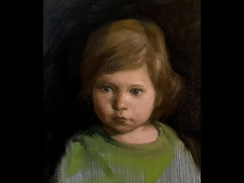 Portrait Painting Tutorial | Painting Portraits of Children | Extended Footage - Yupari Artist