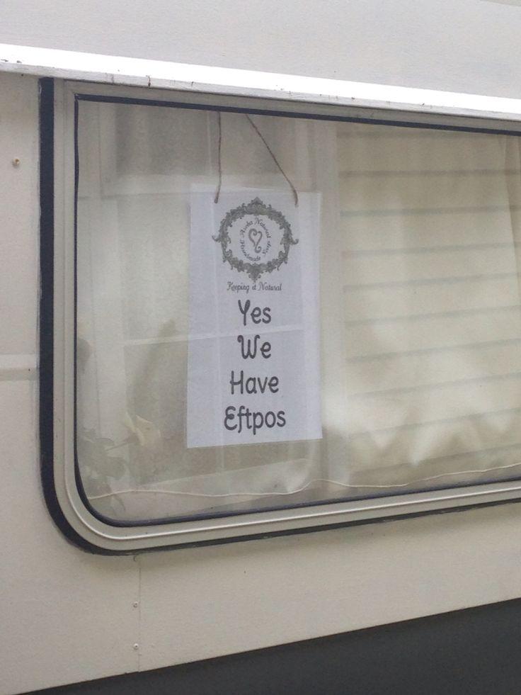 Eftpos ! Yes