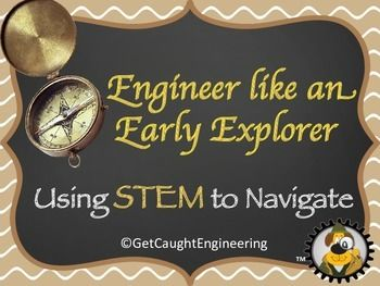 Are early explorers part of your curriculum? We have the perfect STEM activity to integrate into your unit: creating a compass! By combining what they know about magnets, directions, and engineering, your students will be challenged and inspired by this activity.