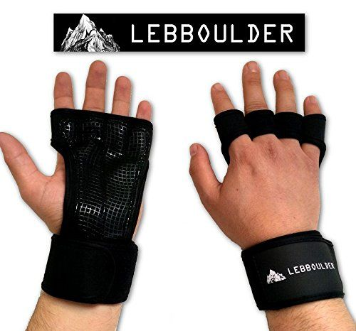 Cross Training Gloves with Wrist Support Gym WorkoutWeightlifting  FitnessSilicone Padding No CallusesSuits Men  WomenThe Best Weight Lifting Gloves for a Strong Grip black Large * Be sure to check out this awesome product.