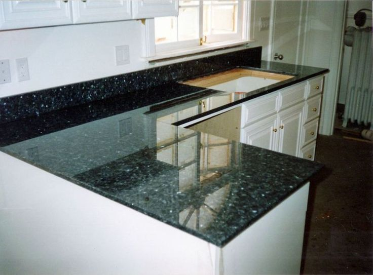 Charming Image Of: Emerald Pearl Granite Countertops Idea