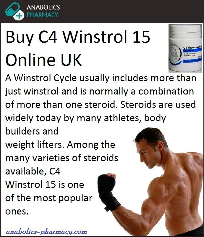 #BuyC4Winstrol15OnlineUK Because It Is Always Suggested Not To Have An Oral Steroid Cycle Alone