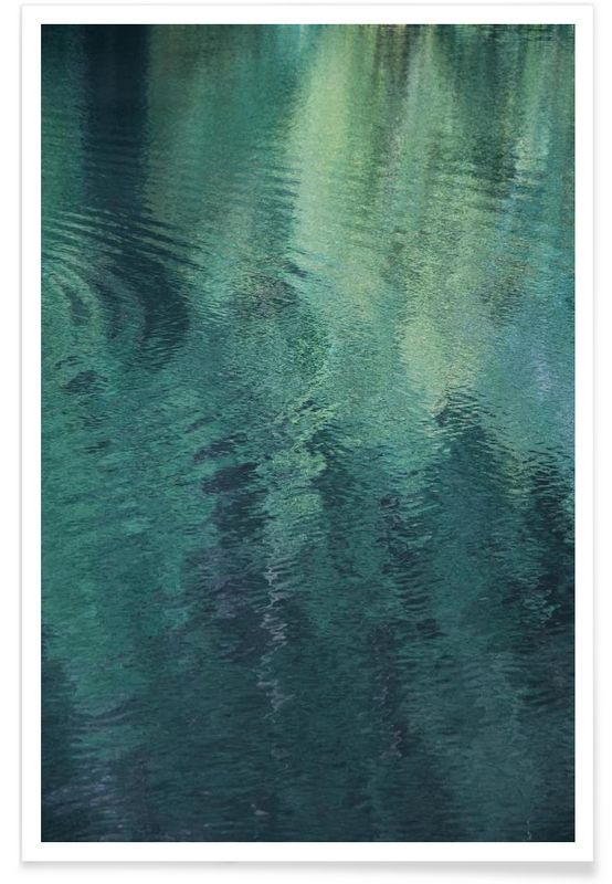 Forest In The Lake - Studio Nahili - Premium Poster