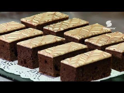Opera : gateau roulé - Samira Tv | اوبيرا : قطع حلوى بالشوكولا - قناة سميرة - YouTube