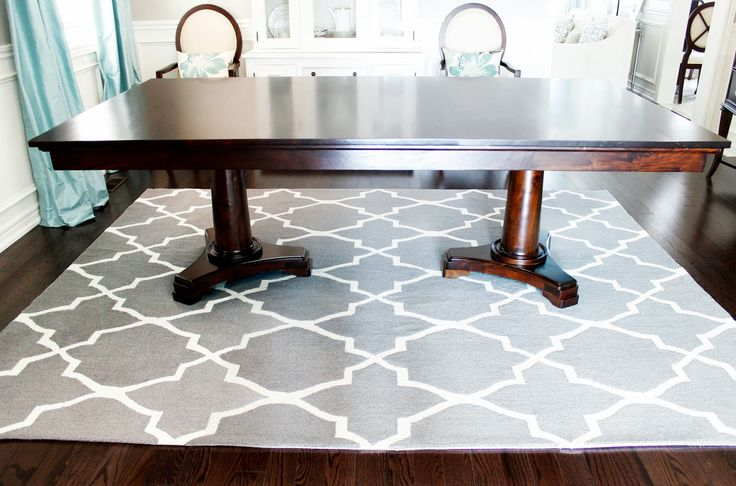 Image Result For Pictures Of Rugs Under Dining Room Tables
