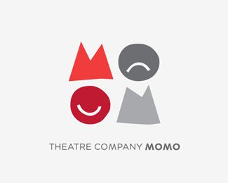 I like how the similar elements compare on contrast the idea of theatre. Execution looks a little sloppy, probably intended.