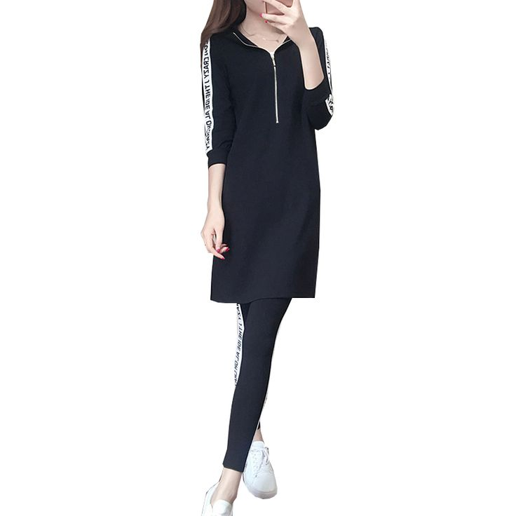 Summer New Women Suit 2017 Comfortable Casual Hooded Top Fashion Pencil Pants Two-piece Temperament Comfortable Clothing ONE587 <3 AliExpress Affiliate's Pin. Offer can be found by clicking the image