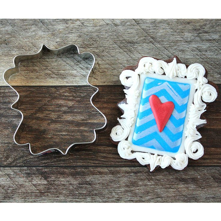 LilaLoa's Square Plaque Cookie Cutter | 4 Inch |Ann Clark
