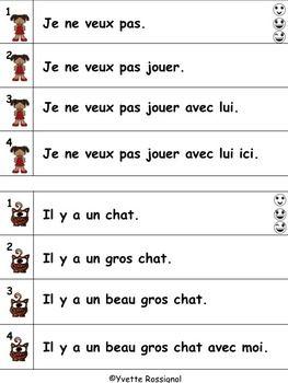French Fluency Phrases (niveau 1) Cahier interactif, ateli