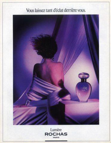 Marcel Rochas (Perfumes) 1985 Lumière