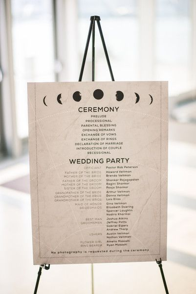 Planetarium wedding venue = celestial-themed wedding reception decor {Sam Hurd Photography}