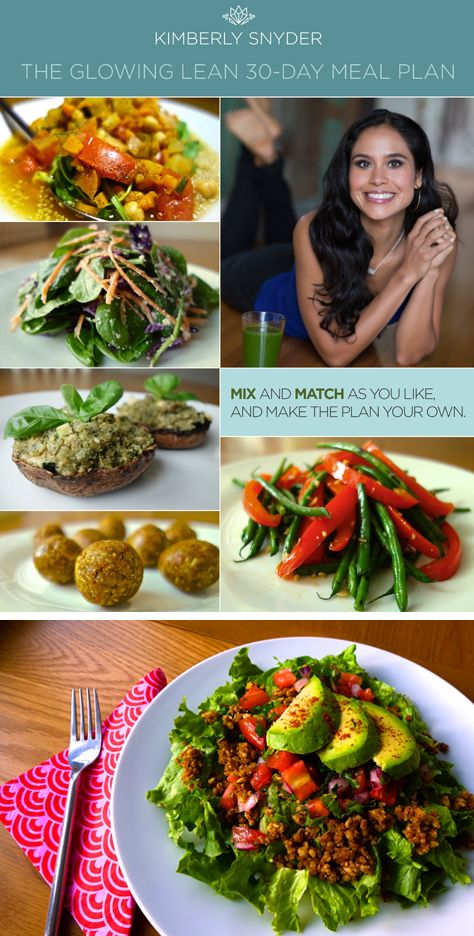 Kimberly Snyder – 30 Day Meal Plan