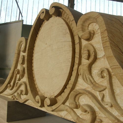 Pietra Dorata Toscana handmade work.... From our own quarries in Italy