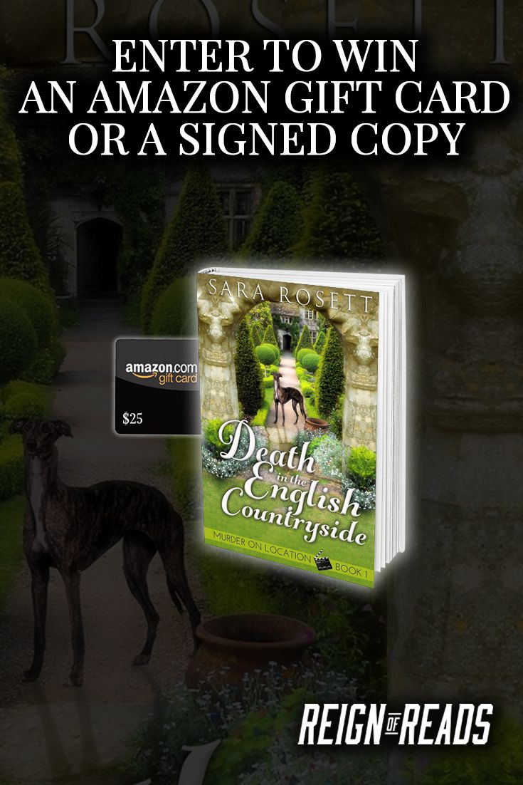 Win Signed Copies Or A $25 Amazon Gift Card From Bestselling Author Sara  Rosett