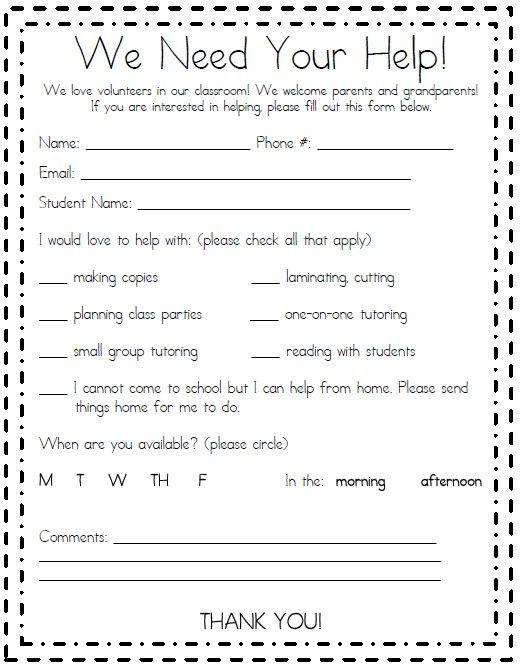 Parent Volunteer teaching