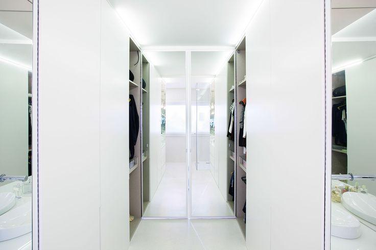 closet with bathroom