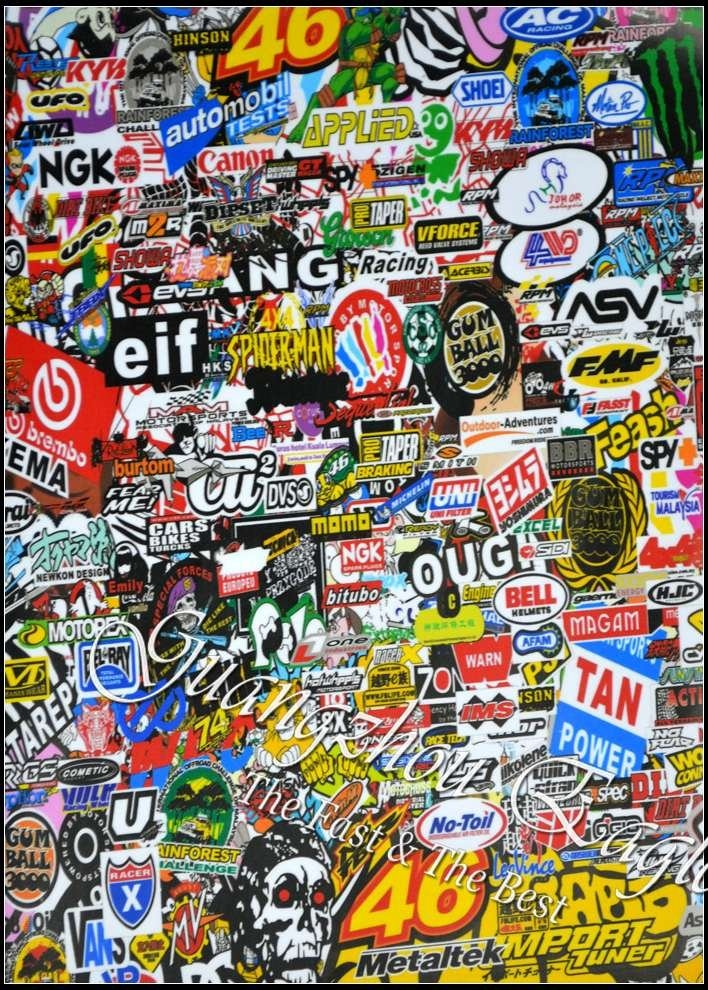 21 Best Images About Sticker Bomb On Pinterest Honda Engine And Bays